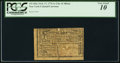 Colonial Notes:New York, New York City and County of Albany February 17, 1776 1 Shilling - $1/8 PCGS Very Good 10.. ...