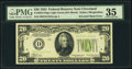 Error Notes:Inverted Reverses, Fr. 2054-D $20 1934 Light Green Seal Federal Reserve Note. PMG Choice Very Fine 35.. ...