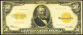 Large Size:Gold Certificates, Fr. 1200a $50 1922 Gold Certificate Fine.. ...