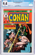 Bronze Age (1970-1979):Superhero, Conan the Barbarian #51 (Marvel, 1975) CGC NM 9.4 White pages....