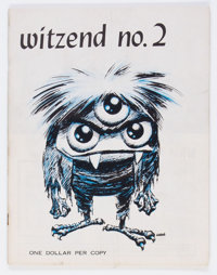 Witzend #2 (Wally Wood, 1967) Condition: FN