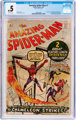 The Amazing Spider-Man #1 (Marvel, 1963) CGC PR 0.5 Off-white pages