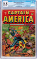 Captain America Comics #7 (Timely, 1941) CGC GD+ 2.5 Cream to off-white pages