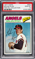 Baseball Cards:Singles (1970-Now), 1977 Topps Nolan Ryan #650 PSA Gem Mint 10....
