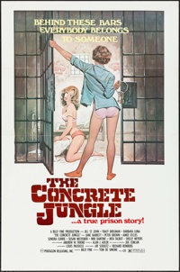 """The Concrete Jungle & Others Lot (Pentagon, 1982). One Sheets (10) (27"""" X 41"""" & 28"""" X 40"""")..."""