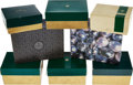 Timepieces, Eight Rolex Boxes/Papers. ... (Total: 8 Items)