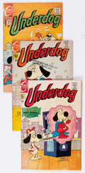 Bronze Age (1970-1979):Cartoon Character, Underdog #1 and 3-10 Group (Charlton, 1970-72) Condition: AverageVG.... (Total: 9 Comic Books)