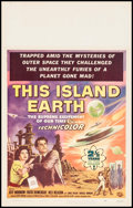 """Movie Posters:Science Fiction, This Island Earth (Universal International, 1955). Window Card (14"""" X 22"""") Reynold Brown Artwork. Science Fiction.. ..."""