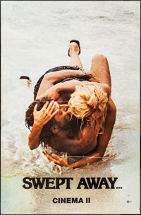 "Swept Away... by an Unusual Destiny in the Blue Sea of August (Cinema 5, 1975). One Sheet (29.5"" X 45""). Forei..."