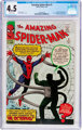 The Amazing Spider-Man #3 (Marvel, 1963) CGC VG+ 4.5 Off-white pages