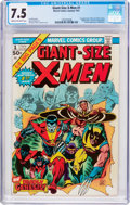 Bronze Age (1970-1979):Superhero, Giant-Size X-Men #1 (Marvel, 1975) CGC VF- 7.5 Cream to off-whitepages....