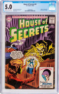 Silver Age (1956-1969):Horror, House of Secrets #61 (DC, 1963) CGC VG/FN 5.0 Cream to off-whitepages....