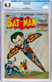 Batman #66 (DC, 1951) CGC VG+ 4.5 Off-white to white pages