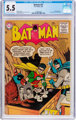 Batman #97 (DC, 1956) CGC FN- 5.5 Off-white to white pages