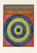 Prints & Multiples, Jasper Johns (b. 1930). Target with Four Faces, 1979. Etching and aquatint in colors on Rives BFK paper. 23-1/2 x 18-1/4...