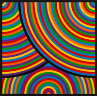 Sol LeWitt (1928-2007) Color Bands, set of eight, 2000 Linocuts in colors on Somerset Velvet paper