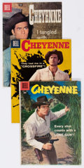 Silver Age (1956-1969):Western, Cheyenne Group of 19 (Dell, 1958-61) Condition: Average GD/VG.... (Total: 19 Comic Books)