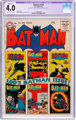 Batman #100 (DC, 1956) CGC Apparent VG 4.0 Slight (C-1) Off-white to white pages