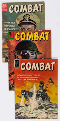 Combat #1-40 Near Complete Series Group of 39 (Dell, 1961-73) Condition: Average VG+.... (Total: 39 Comic Books)