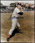 Autographs:Baseballs, Ted Williams Signed Photograph.  Offered is a ...