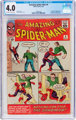 The Amazing Spider-Man #4 (Marvel, 1963) CGC VG 4.0 Off-white to white pages