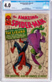 The Amazing Spider-Man #6 (Marvel, 1963) CGC VG 4.0 Off-white to white pages