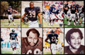 Autographs:Photos, Chicago Bears Signed Photograph Lot of 21.. ...