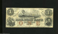 Obsoletes By State:Michigan, Adrian, MI- Erie and Kalamazoo Railroad Bank $1 August 1, 1853 This note is complete with decent color, but has a few pinho...