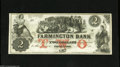 Obsoletes By State:New Hampshire, Farmington, NH- Farmington Bank $2 Dec. 4, 18__ This colorful Obsolete is printed on both sides. Choice Crisp Uncirculate...