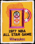 Basketball Collectibles:Others, 1977 NBA All-Star Game Original Patch.. ...