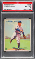 Baseball Cards:Singles (1930-1939), 1933 Goudey Charley Root #226 PSA NM-MT 8....