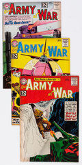 Silver Age (1956-1969):War, Our Army at War Group (DC, 1962-69) Condition: Average FN.... (Total: 31 Comic Books)