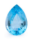 Gems:Faceted, Gemstone: Blue Topaz - 26.84 Cts.. Brazil. 15.93 x 22.11 x 10.55mm . ...
