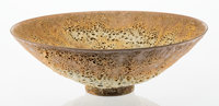 James Lovera (American, 1920-2015) Bowl, circa 1960 Glazed earthenware 4-1/2 inches high x 13-3/4