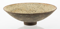 James Lovera (American, 1920-2015) Bowl, circa 1960 Glazed earthenware 4-1/2 inches high x 14 inc