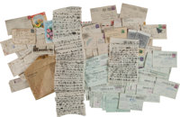 Letters by a Japanese-American Written From an Internment Camp During World War II