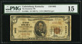 National Bank Notes:Kentucky, Catlettsburg, KY - $5 1929 Ty. 1 The Kentucky NB Ch. # 9602. ...