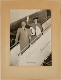 Autographs:U.S. Presidents, Harry S. Truman and Bess Truman 1946 Christmas Card Signed....