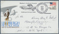 Autographs:Military Figures, Douglas Corrigan Signed First Day Cover. ...
