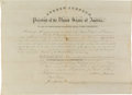 Autographs:U.S. Presidents, Andrew Johnson Appointment Signed, ...