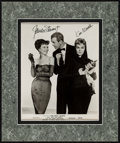 """Movie Posters:Romance, Bell, Book and Candle (Columbia, 1958). Matted Autographed Photo (8"""" X 10"""" in 11.5"""" X 13.75"""" Matte). Romance.. ..."""