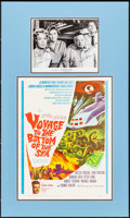 "Movie Posters:Adventure, Voyage to the Bottom of the Sea (20th Century Fox, 1961). Matted Display (18.75"" X 31.5"") with Window Card (14"" X 22"") & Aut..."