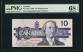 Canadian Currency: , BC-57bA $10 1989 Replacement. ...