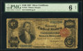 Large Size:Silver Certificates, Fr. 344 $100 1891 Silver Certificate PMG Good 6 Net.. ...