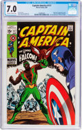 Silver Age (1956-1969):Superhero, Captain America #117 (Marvel, 1969) CGC FN/VF 7.0 Off-white to white pages....