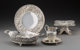 Five Various S. Kirk & Son Silver Floral Repoussé Table Articles, Baltimore, Maryland, circa 1868 and lat...