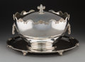 Silver Holloware, British:Holloware, A Very Large Garrard & Co. Silver Covered Monteith and FootedSalver, London, England, 1978. Marks: (lion passant), (leopard...(Total: 3 Items)