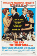 "Movie Posters:Action, The Spy with My Face (MGM, 1965). One Sheet (27"" X 41""). Action....."