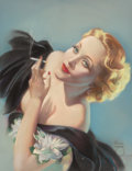 Other, Alberto Vargas (American, 1896-1982). Marlene Dietrich, 1932. Pastel on board. 26.5 x 20.25 in. (sight). Signed lower ri...