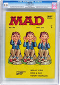 Magazines:Mad, MAD #36 (EC, 1957) CGC VF/NM 9.0 Off-white to white pages....